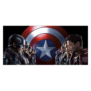 Captain America. Размер: 130 х 60 см